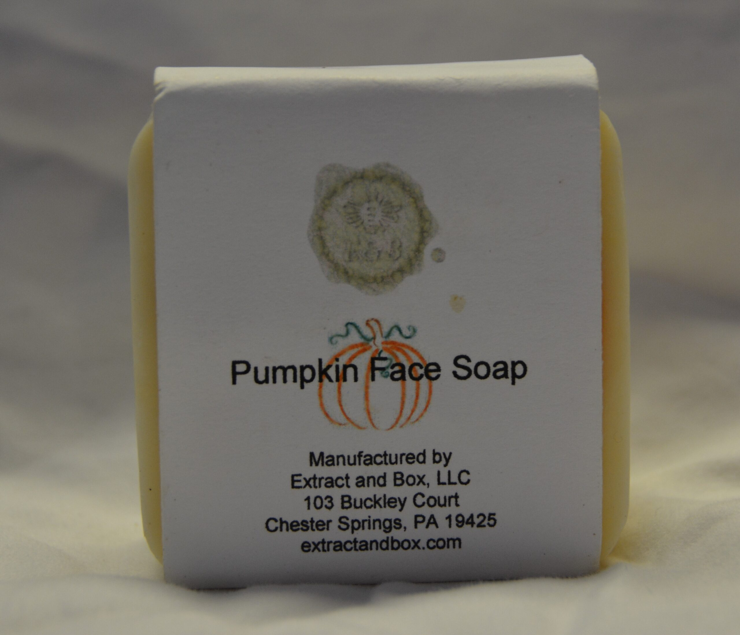 Pumpkin Face Soap