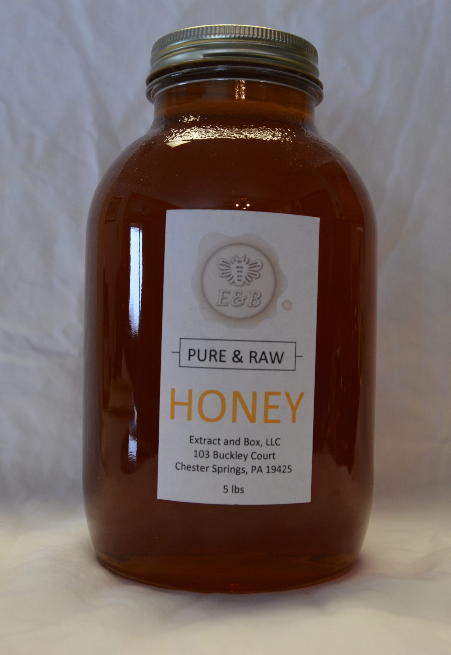 5lb Summer Honey Jar