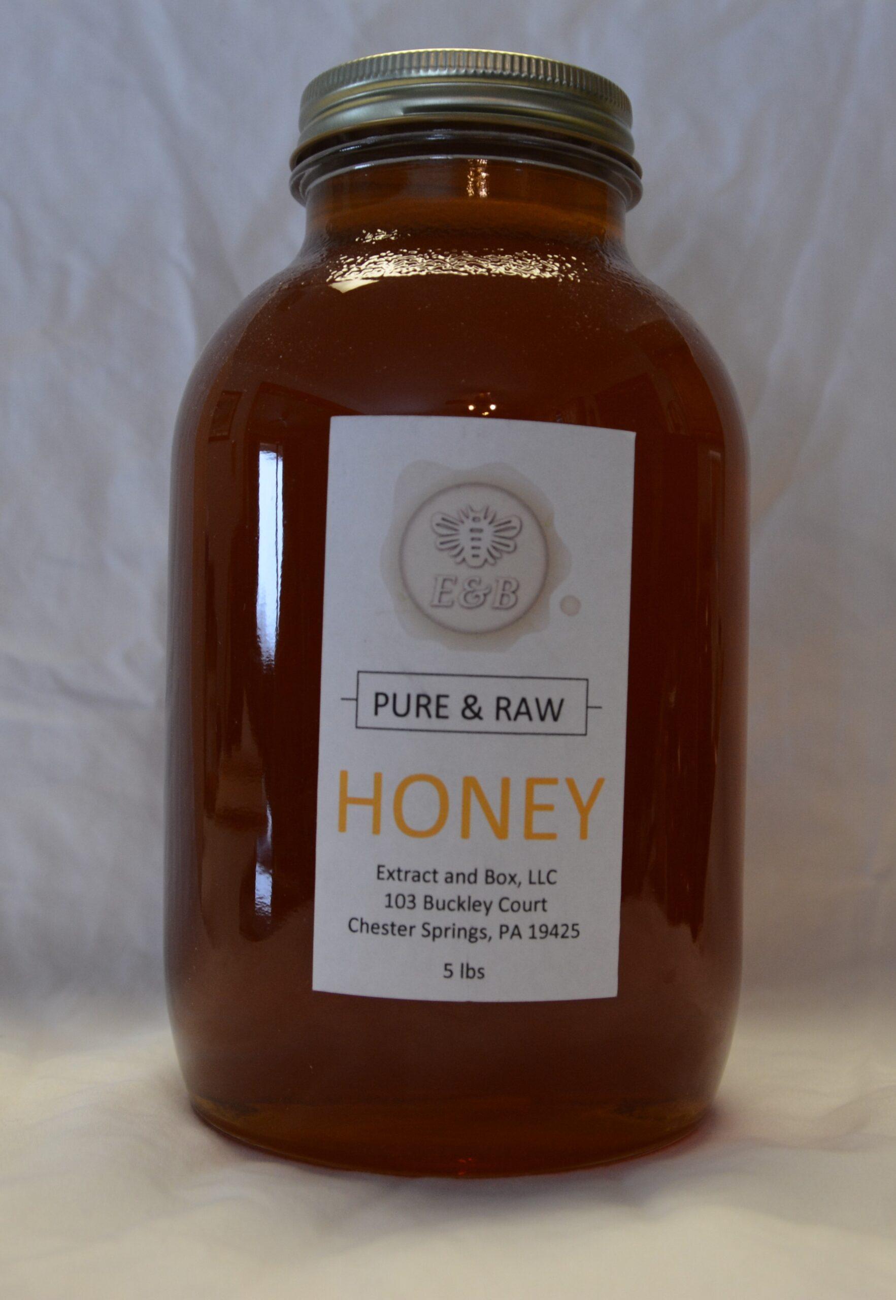 5lb Summer Honey Jar